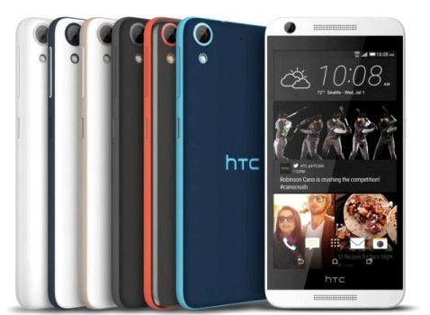 4 New Products HTC Desire: Desire 626, Desire 626s, Desire 526, Desire 520