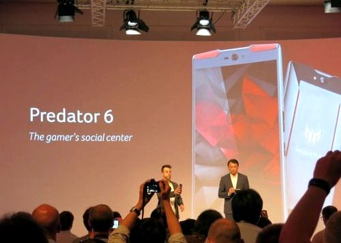 Acer introduced the Predator and Predator 8 6
