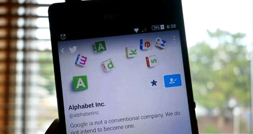 Alphabet reported for the first quarter of 2016