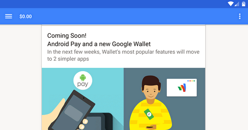 Android Pay will be launched in a few weeks