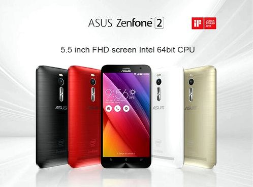 ASUS ZenFone 2 - a minimum of time in the outlet