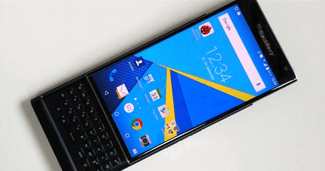 New pictures of BlackBerry Priv again appeared on the network