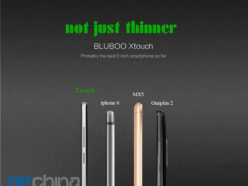 Bluboo Xtouch X10 - sapphire crystal, and 4GB of RAM