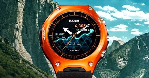 Casio introduced its first Android watch Wear