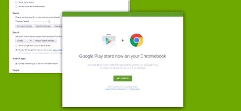 Chrome OS will be supported Android-apps