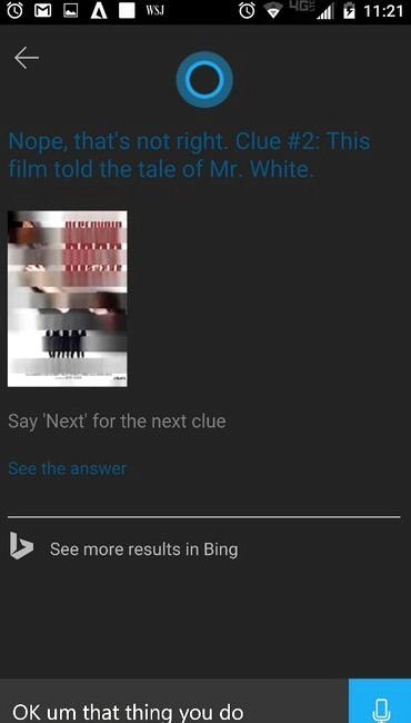 Cortana for Android has got taymkillerom