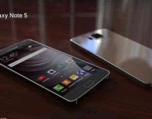There were unofficial renderings Samsung Galaxy Note 5