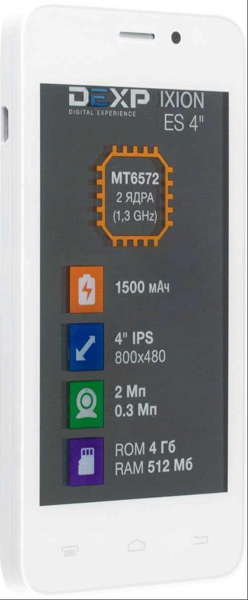 DEXP Ixion X250 OctaVa where to buy Case dexp