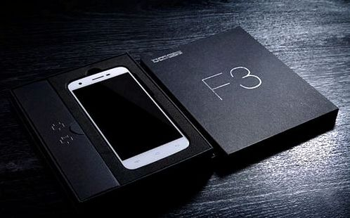 Doogee posted videos and pictures of the F3 Doogee