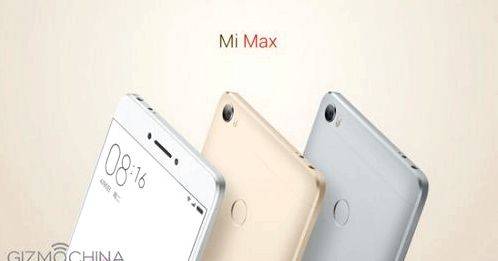 PHABLET Xiaomi Mi Max officially unveiled