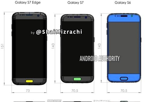 Flagships Galaxy S7 appeared on another leak