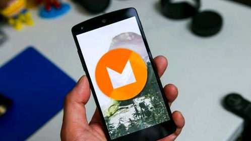 data backup function appeared in the Android M