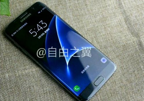 Galaxy S7 Edge again & ldquo; lit & rdquo; on the picture