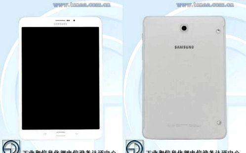 Galaxy Tab S3 8.0 appeared in TENAA
