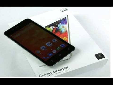 We get the root Micromax Q380 Canvas Spark (firmware) root