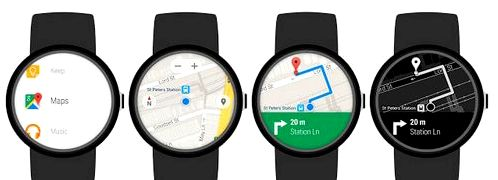 Google Maps for Android Wear Get these updates