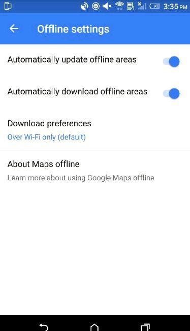 Google Maps v2.93 got a lot of improvements