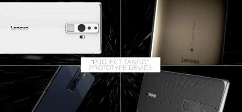 Google announced plans for Project Tango at the Google I / O