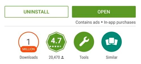 Google Play will show the presence of advertising in the application