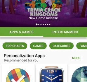 Google Play has received a major redesign