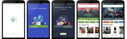 Google Play will receive a major redesign