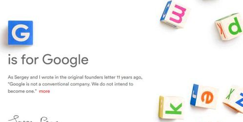 Google restructures its divisions