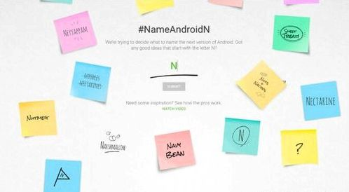 Google asks users to call Android N