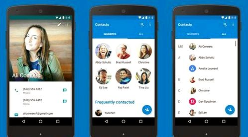 Google returned the Phone and Contacts apps on Google Play