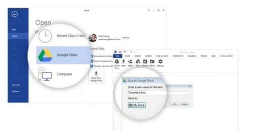 Google introduced in Microsoft Office