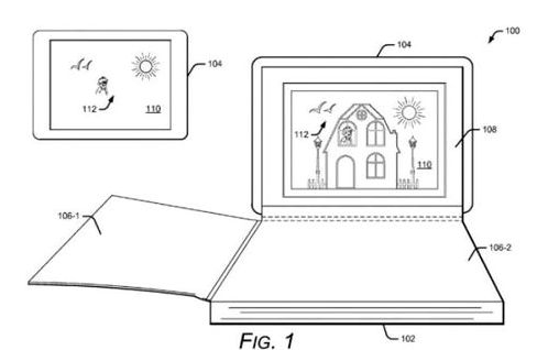 Google patented the book with augmented reality