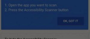 Google launched a new Accessibility Scanner