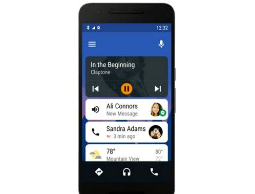 Google launched Android Auto app for smartphones and tablets