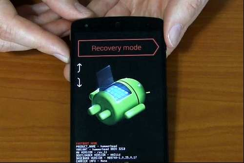 How to disable the screen unlock key nexus 5 graphics android