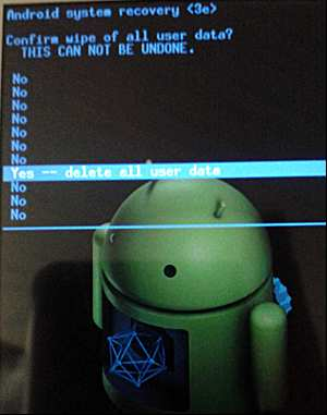How to remove the graphic key on the phone screen unlock android