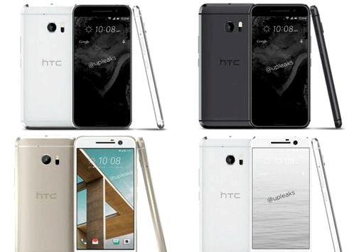 HTC 10 appeared in several colors
