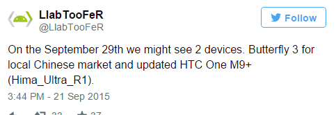 HTC is not present at the upcoming conference A9