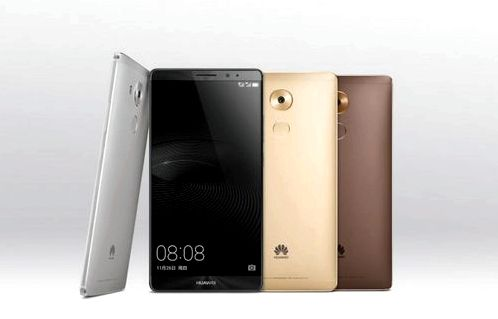 Huawei announced Mate 8