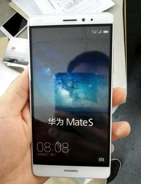 Huawei MateS appeared in live photos