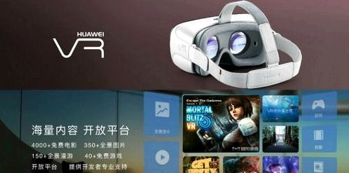 Huawei introduced its first VR-headset