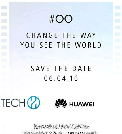 Huawei Huawei sends invitations to P9 is a presentation