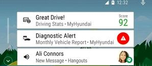 Hyundai introduced a proprietary shell on the basis of Android Auto