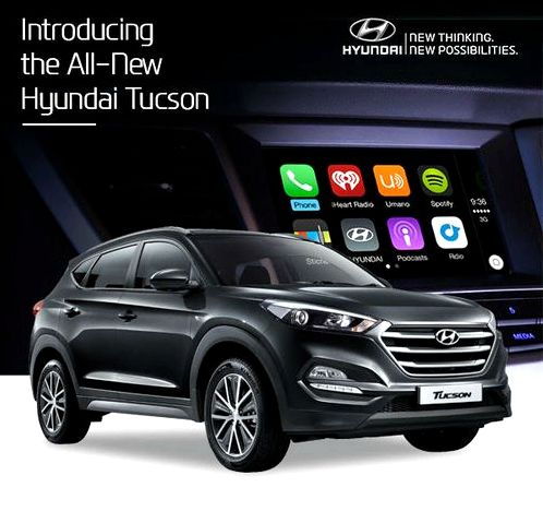 2015 Hyundai Tucson ActiveX Android Auto will receive next year