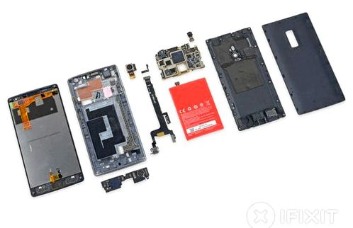 IFixit appreciated the ease of repair OnePlus 2 to 7 of 10