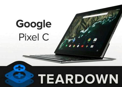 IFixit evaluated maintainability Google Pixel C