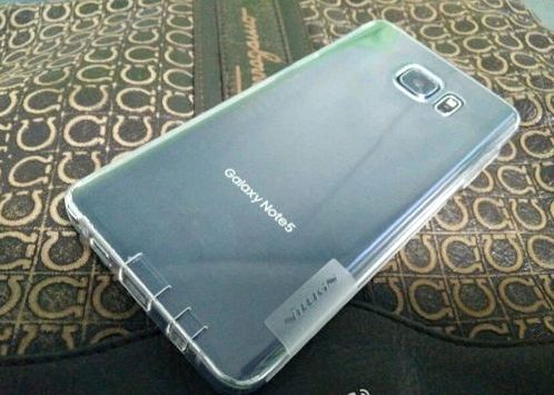 High-quality photo Samsung Galaxy Note 5 flowed into the network