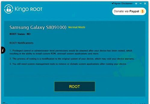 Root on the smartphone Sony Xperia P LT22i