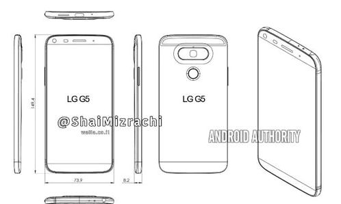 LG G5 appeared in a new leak