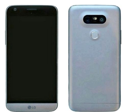 LG G5 again shown in the picture