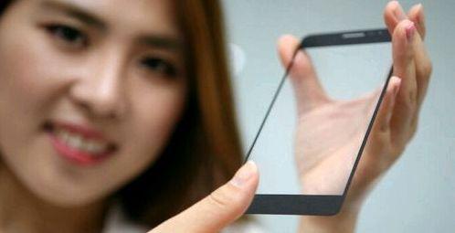 LG presented onscreen fingerprint scanner