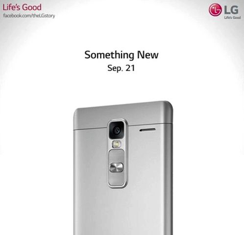 LG posted a teaser of the upcoming LG H740
